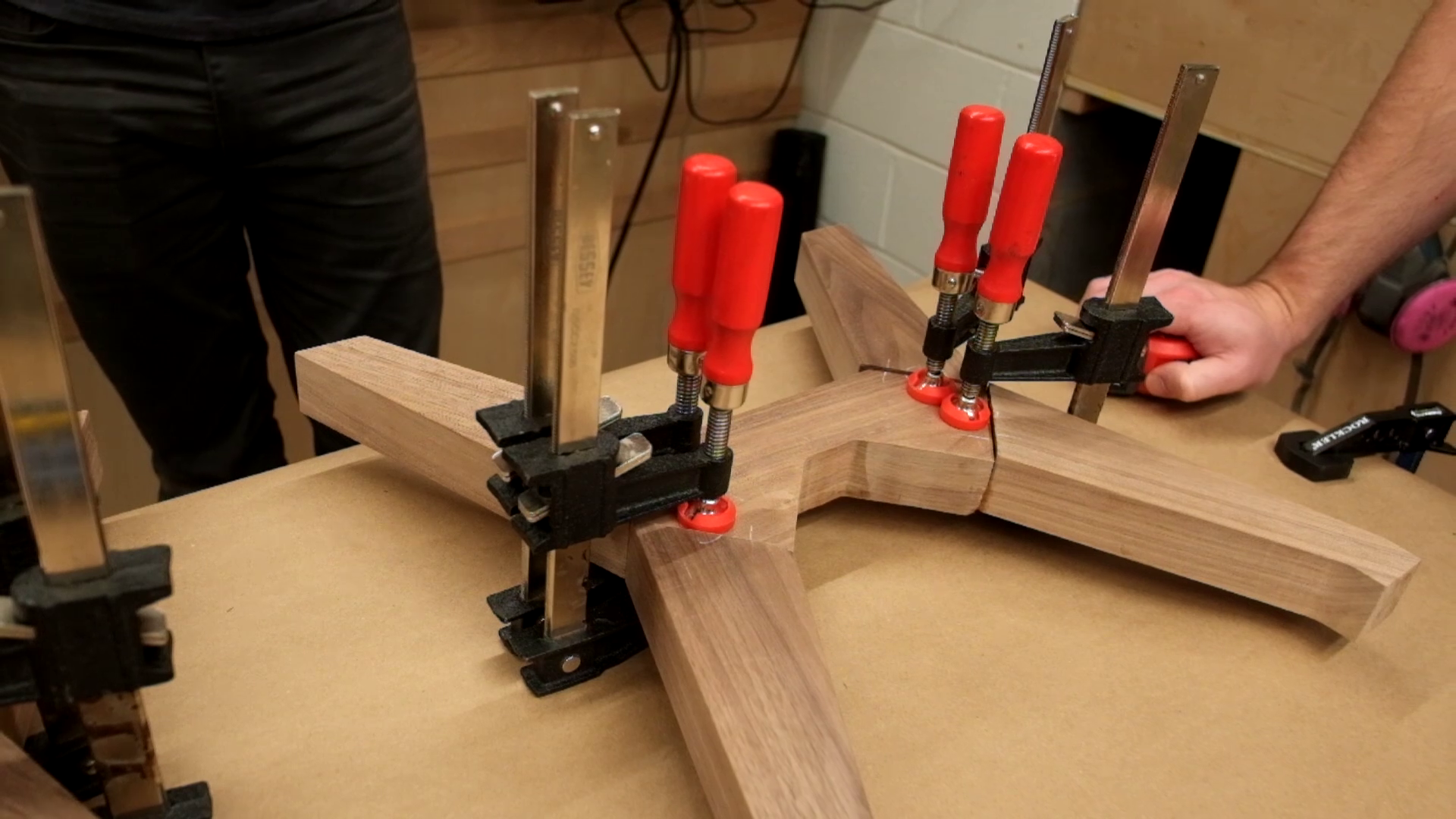 Picture of Glue Up and Finish Legs