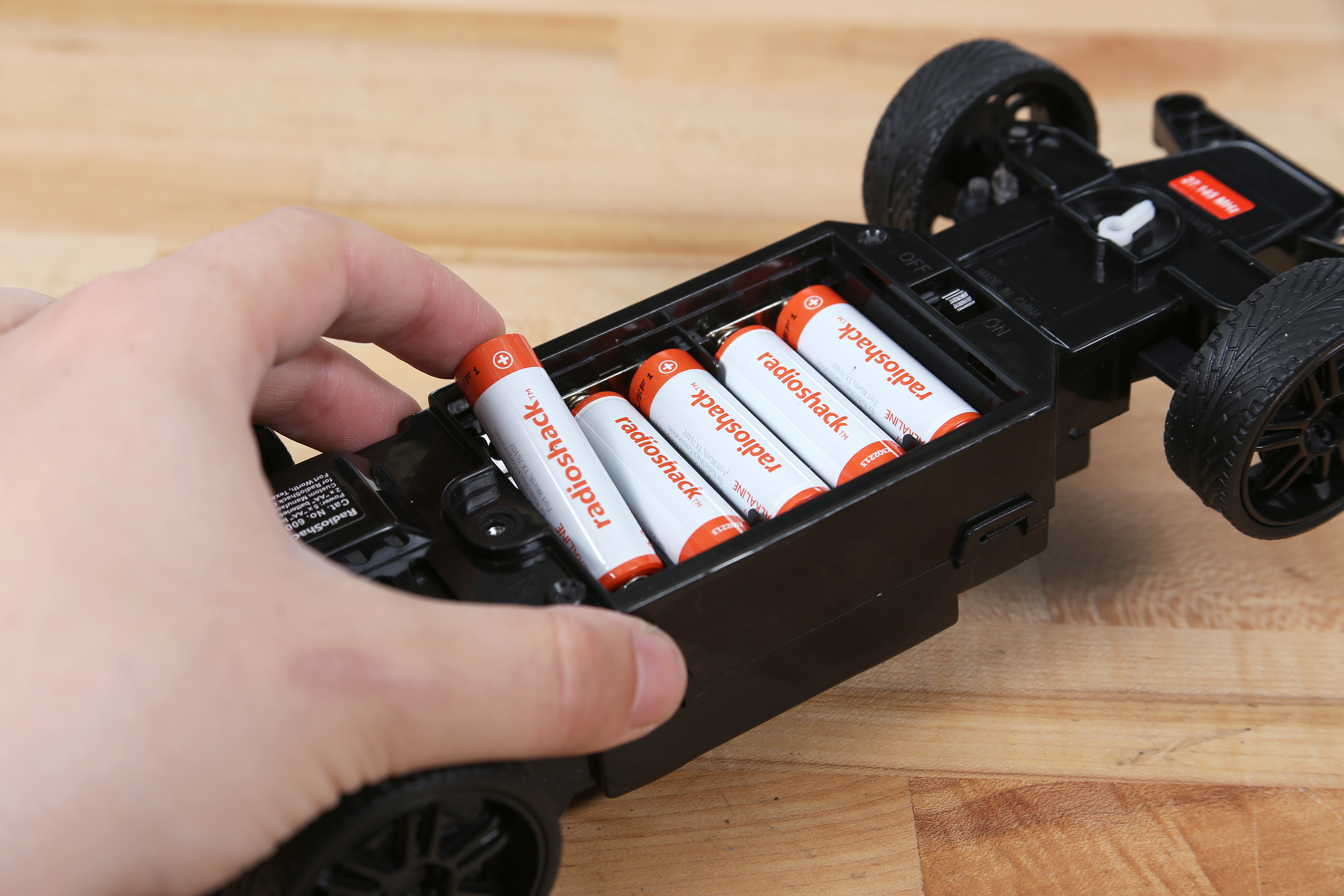 Picture of Batteries and Zip Tie