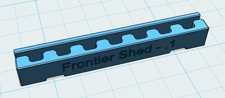 Picture of 3D Parts Design - Timing Belt Splice Clip