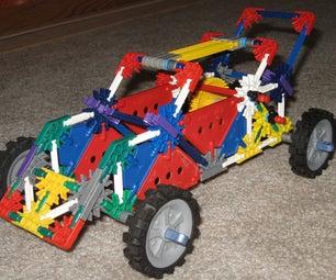 Motorized Knex Car