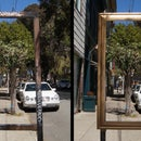 """Reframing"" Empty Parking Sign"