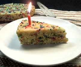 Birthday Cake Rice Crispy