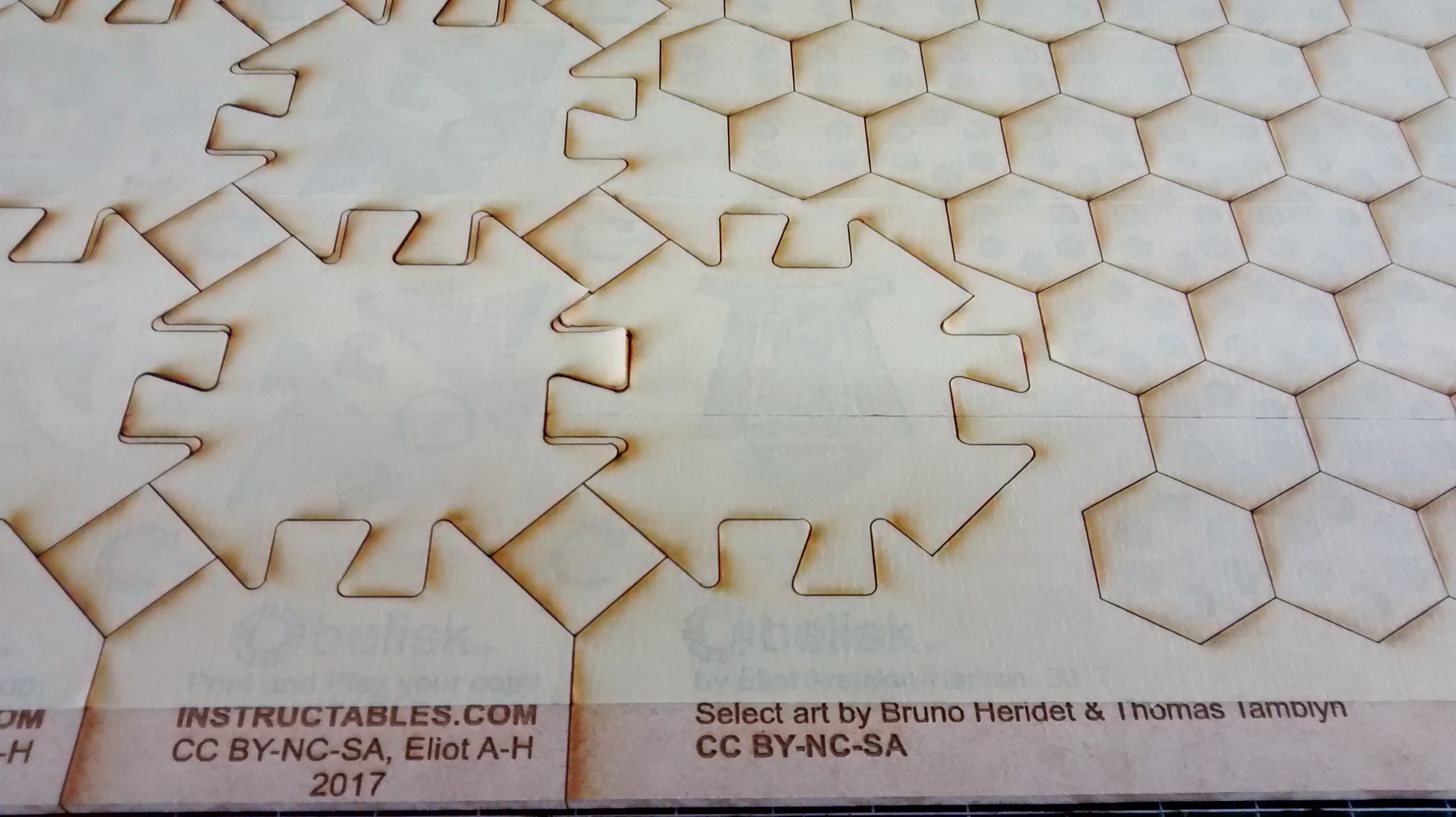 Picture of Laser Cut the Game Tiles and Tokens