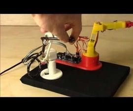 Build a Waldo for Arduino Robot Arms