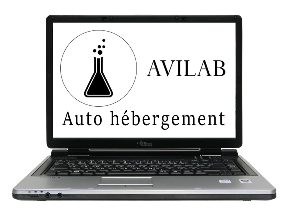 Picture of Auto Hébergement Sur Vieux PC Portable