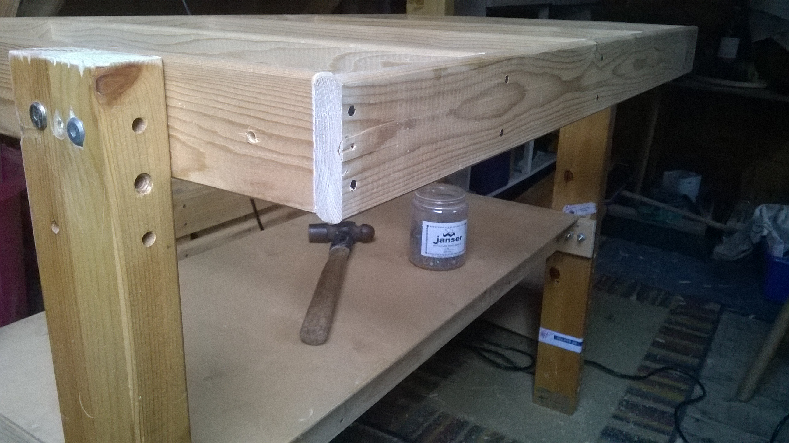 Picture of Creating the Work Surfaces (Part 2)
