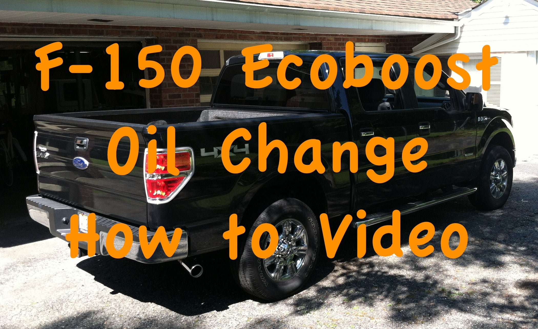 2013 F150 Oil Change >> How To Perform An Oil Change On A Ford F 150 Ecoboost