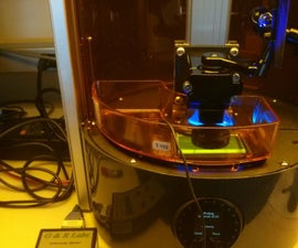 Adjusting for changes in light intensity with the Ember printer