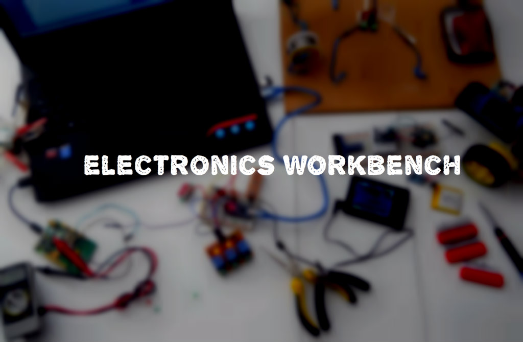 Picture of Make a One Desk Electronics Lab (in a Small Place, for Beginners)