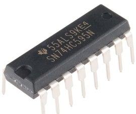 NODEMCU LUA ESP8266 With 74HC595 LED and Matrix Driver