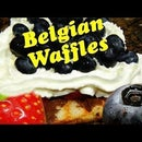Belgian Waffles Substitute for Stressed Dads