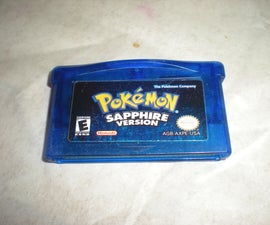 Pokemon Sapphire Battery Replacement