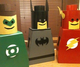 Lego Man Costume for kids