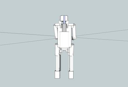 Sketchup Robot Creation