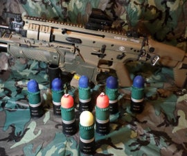 Airsoft 40mm Special Effect Projectiles