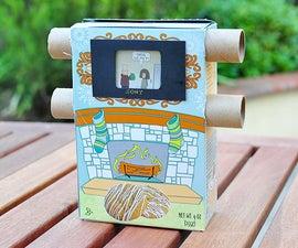 Low Tech Cardboard TV Toy