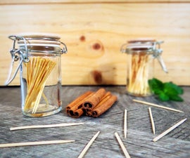 Candy Oil Infused Toothpicks
