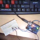 Simple and Cheap Temperature measuring instrument  Using Thermistor