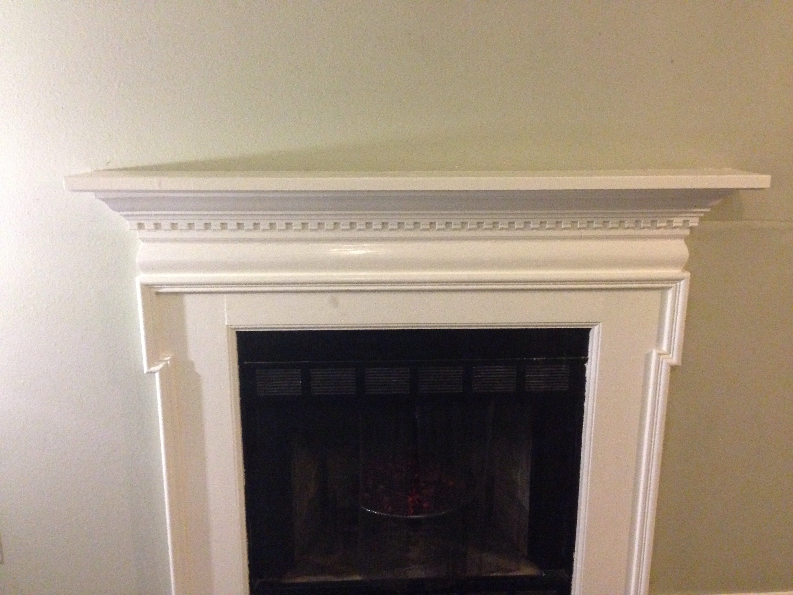 Fireplace Mantel Expansion For Your Tv 6 Steps Instructables
