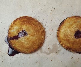Blueberry Basil and Goat Cheese Hand Pies