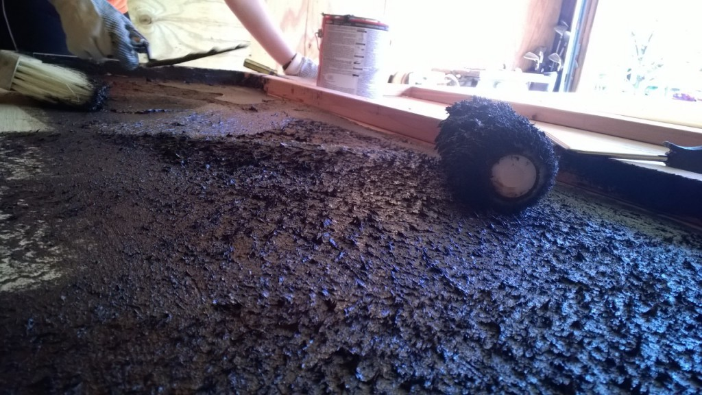 Picture of Asphalt Emulsion and Hard Foam Insulation