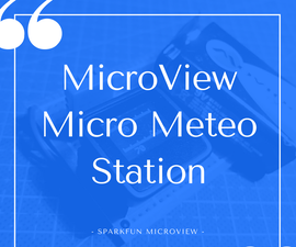 Microview DHT11 Meteo Station