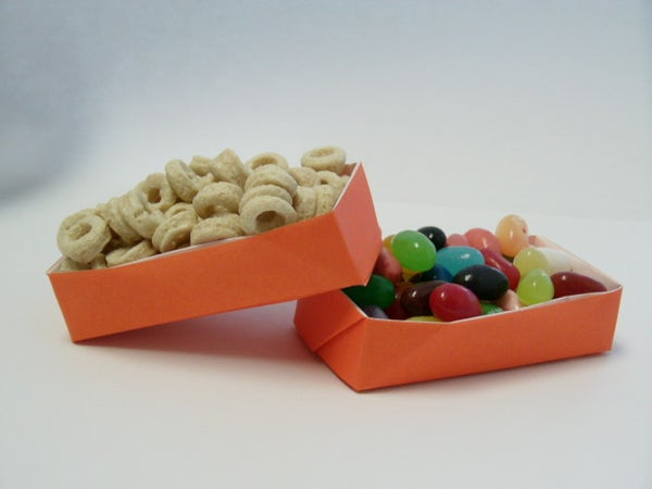 Rectangular Origami Box