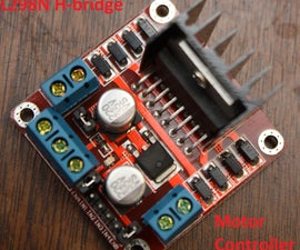 Arduino Modules - L298N Dual H-Bridge Motor Controller