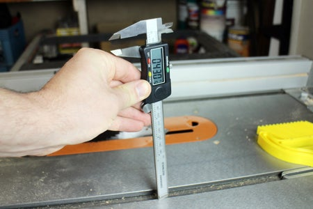 Measure Mitre Track