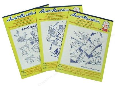 Hot Iron Transfers and Embroidery