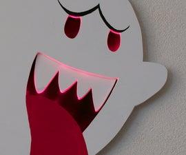 Hang Boo on a wall (Boo wall piece)
