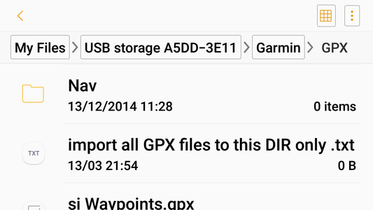 How to Navigate Garmin File Structure
