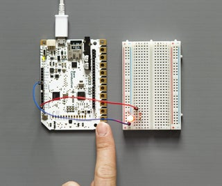 Touch Board and LEDs