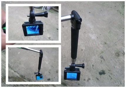 DIY Camera Stabilizer Using Old Monopod