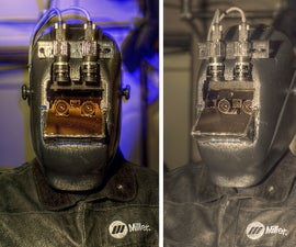 HDR EyeGlass: from cyborg welding helmets to Wearable Computing in everyday life