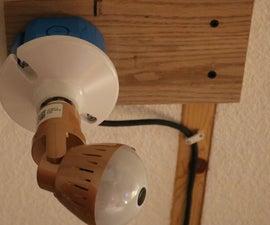 Light Bulb Security Mount