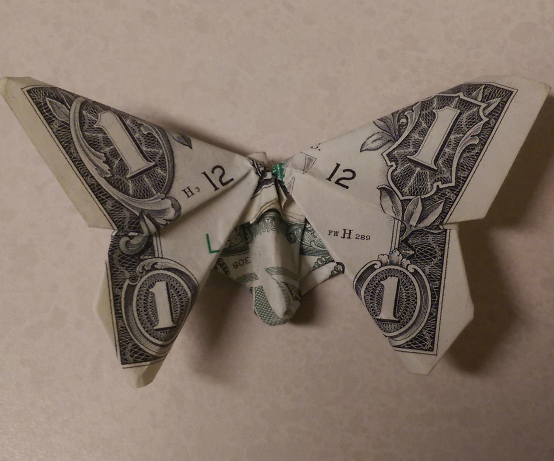 25 Money Origami Tutorials | 3D Dollar Bill Crafts | 1519x1823