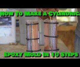 Making Cylindrical Epoxy Blank in 10 Easy Steps