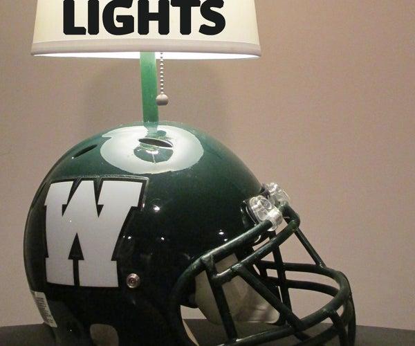 Football Helmet Desk Lamp