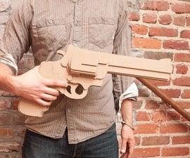 Huge Cardboard Gun