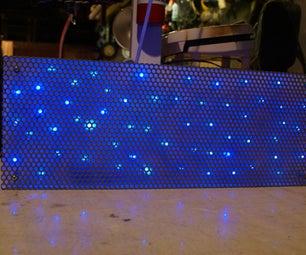 "Build a ""Flickering"" LED Light Panel"