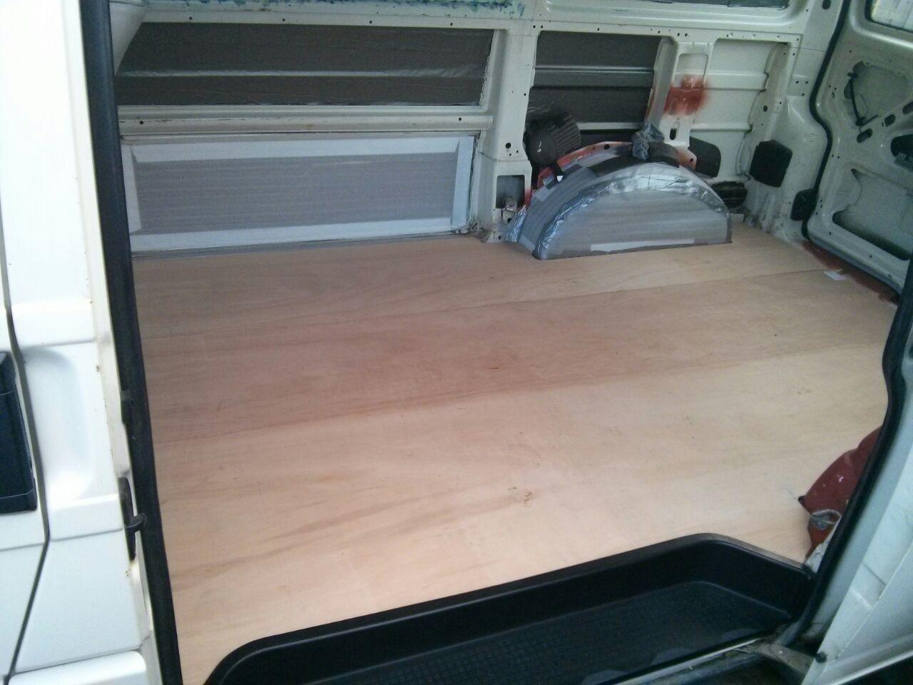 Picture of Campervan Floor Insulation