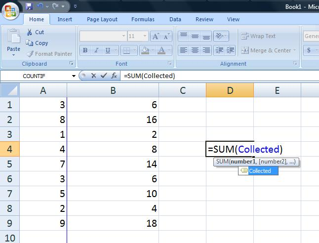Picture of Creating Calcuated Columns and Autosums