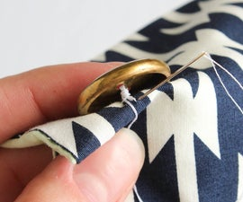 Sewing on a Button + What to Sew Next