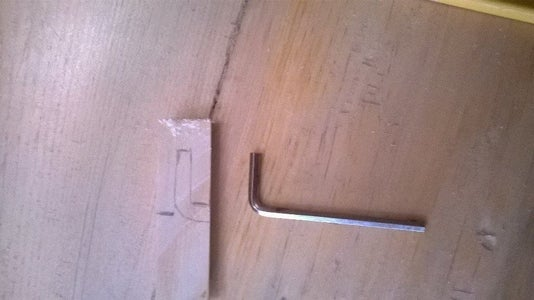 Fitting the Allen Wrench