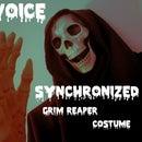 Voice Synchronized Grim Reaper Costume