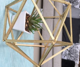 Polygon Pot Decoration