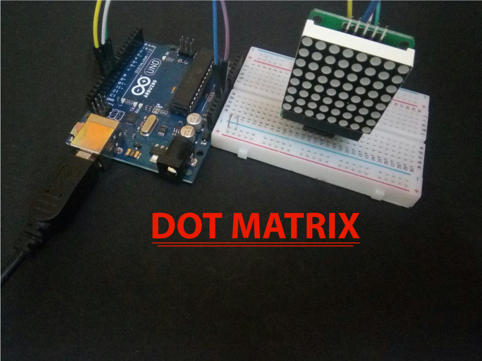 Picture of Arduino 8x8 DOT_Matrix