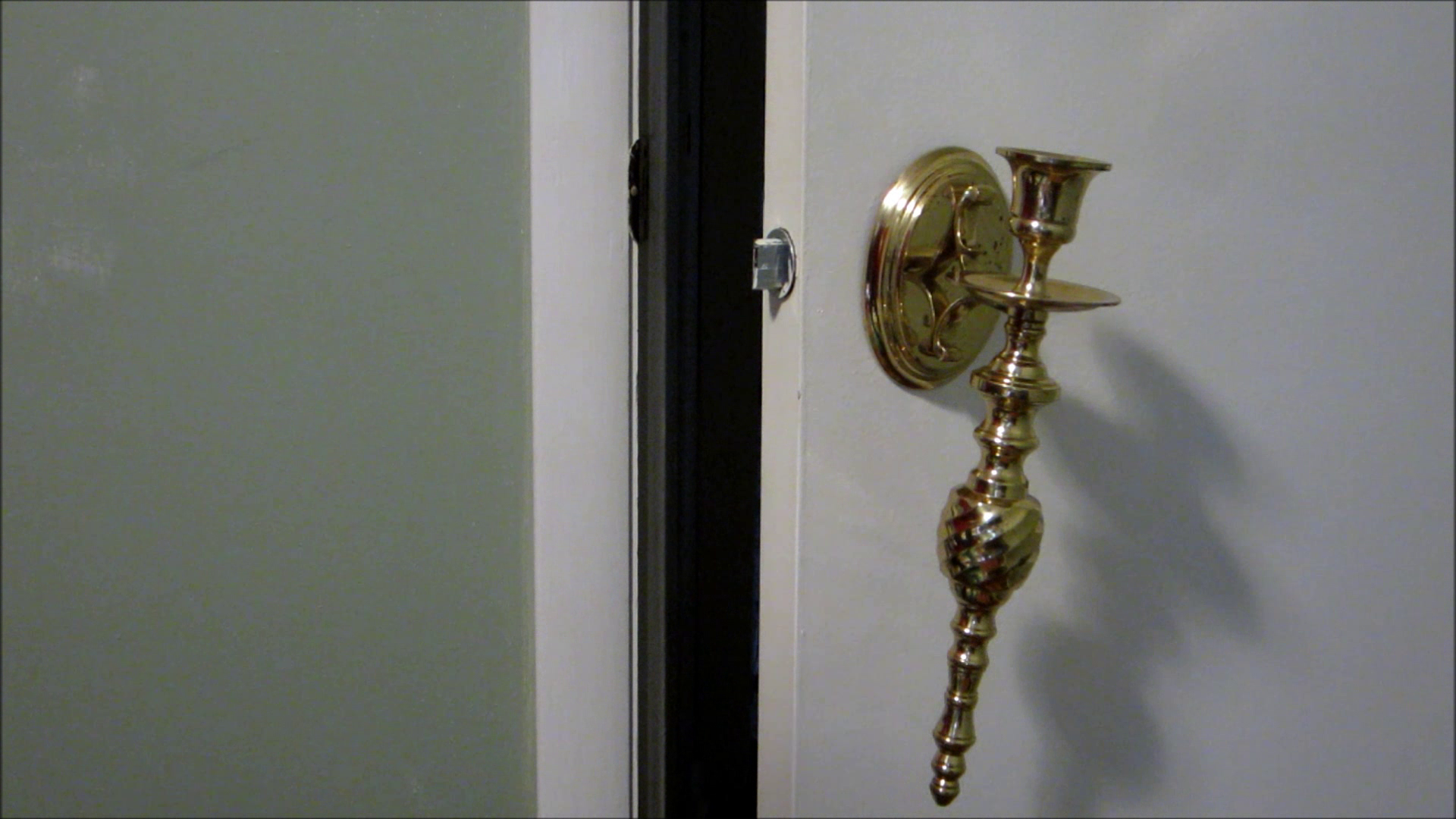Picture of Use a Candlestick As a Door Knob