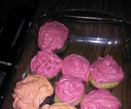 Homemade Chocolate Cupcakes and Frosting